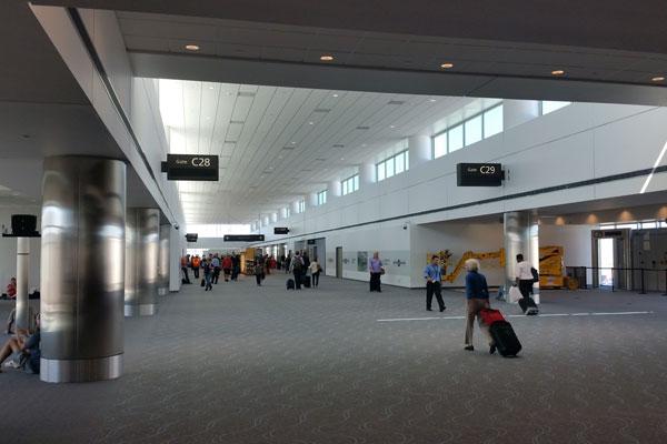 Concourse C Five Gate Expansion Dia New Gates Open