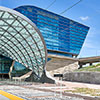 DEN Westin Hotel and Public Transit Center